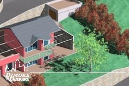 Villa di nuova costruzione a Trarego sul lago maggiore - lotto 3-