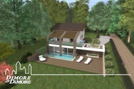 Villa con parco e spiaggia privata a Ispra