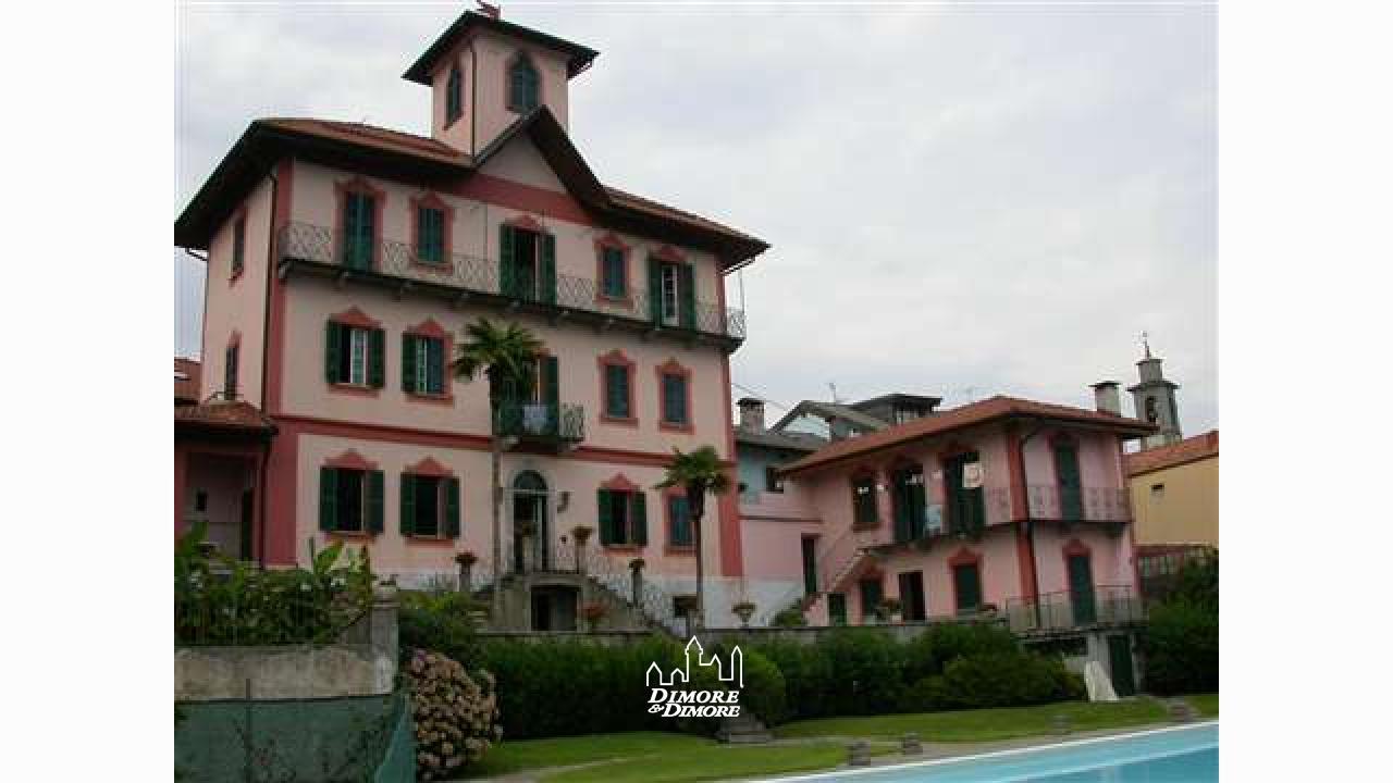 Villa d 39 epoca vista lago maggiore dimore dimore agenzia immobiliare a verbania - Dimore immobiliare ...