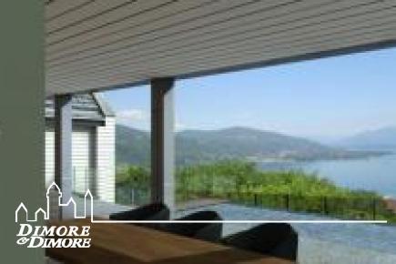 Villa project near Arona on Lake Maggiore views