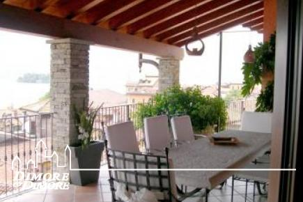 Penthouse Lake Maggiore with indoor pool and lake view