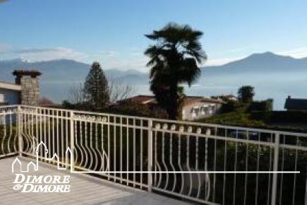 Ghiffa Hütte mit Blick auf den Lago Maggiore