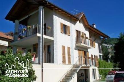 Villa Ghiffa vue sur le lac Majeur