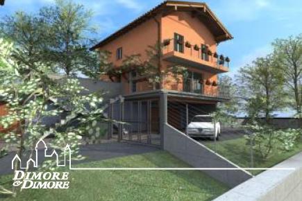 Villa des neuen Aufbaus Vignone