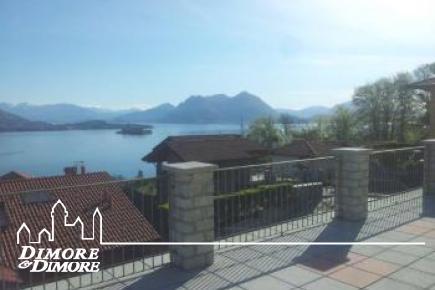 Appartamento a Baveno con dominante vista sul lago Maggiore