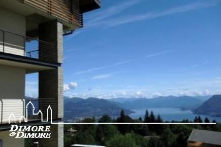Appartamento a Gignese con meravigliosa vista lago